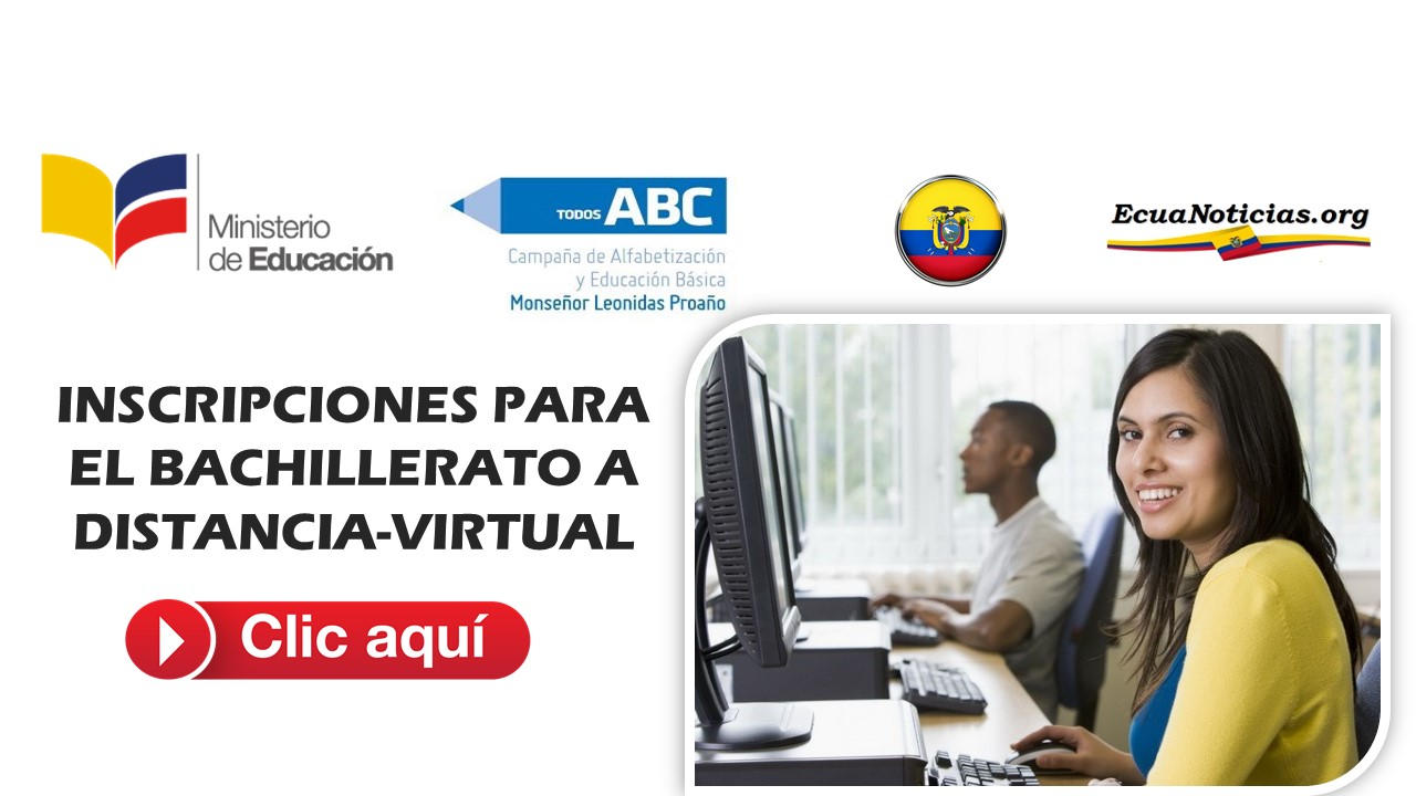 FASE DE INSCRIPCIÓN PARA BACHILLERATO A DISTANCIA-VIRTUAL 3