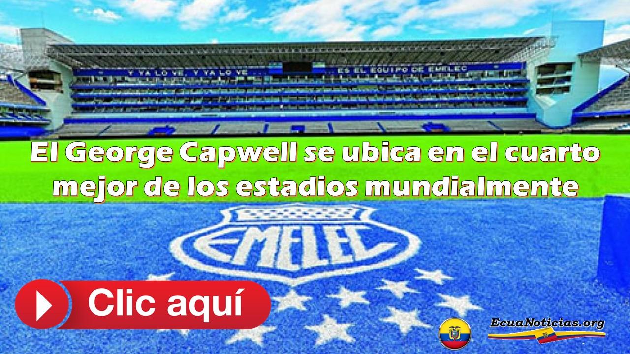 El George Capwell se ubica en el cuarto mejor de los estadios mundialmente