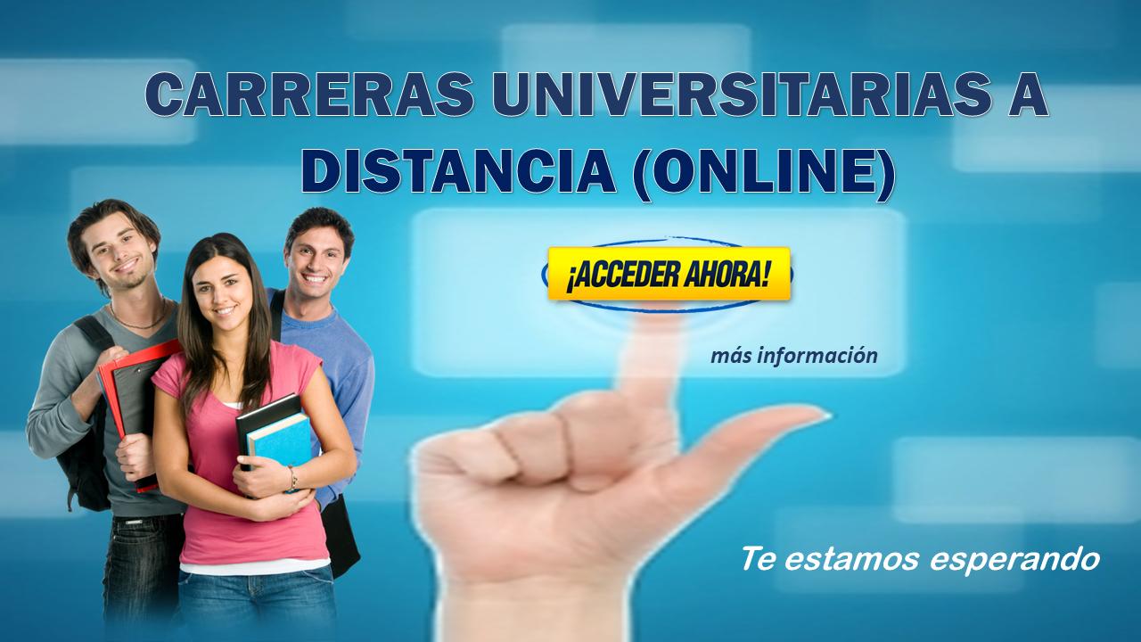 Carreras universitarias a distancia online