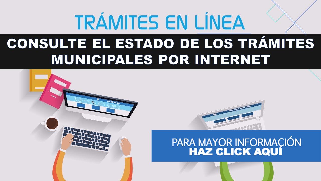 consulte el estado de los trámites municipales por Internet 10
