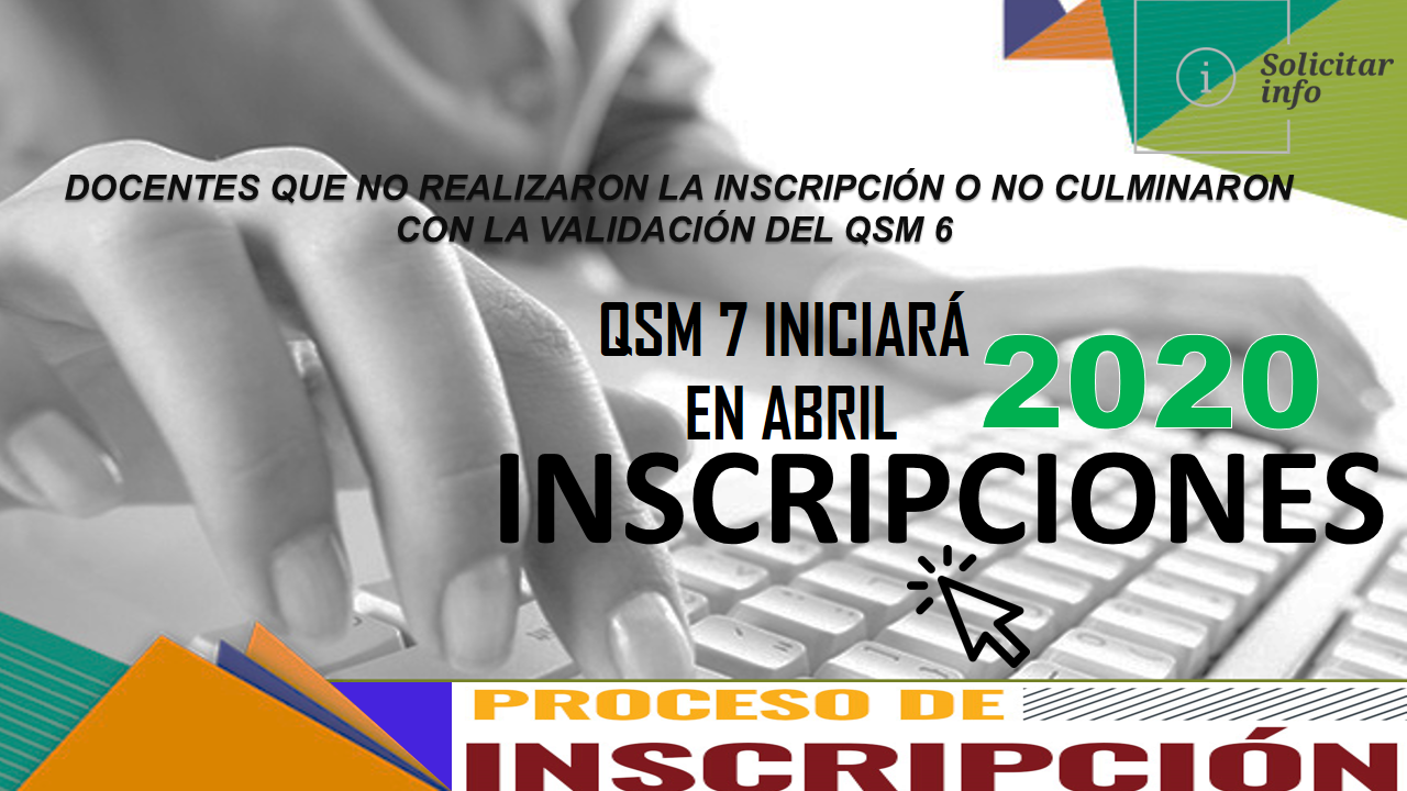 Inscripciones Quiero Ser Maestro 7 iniciarán en abril 2020 1
