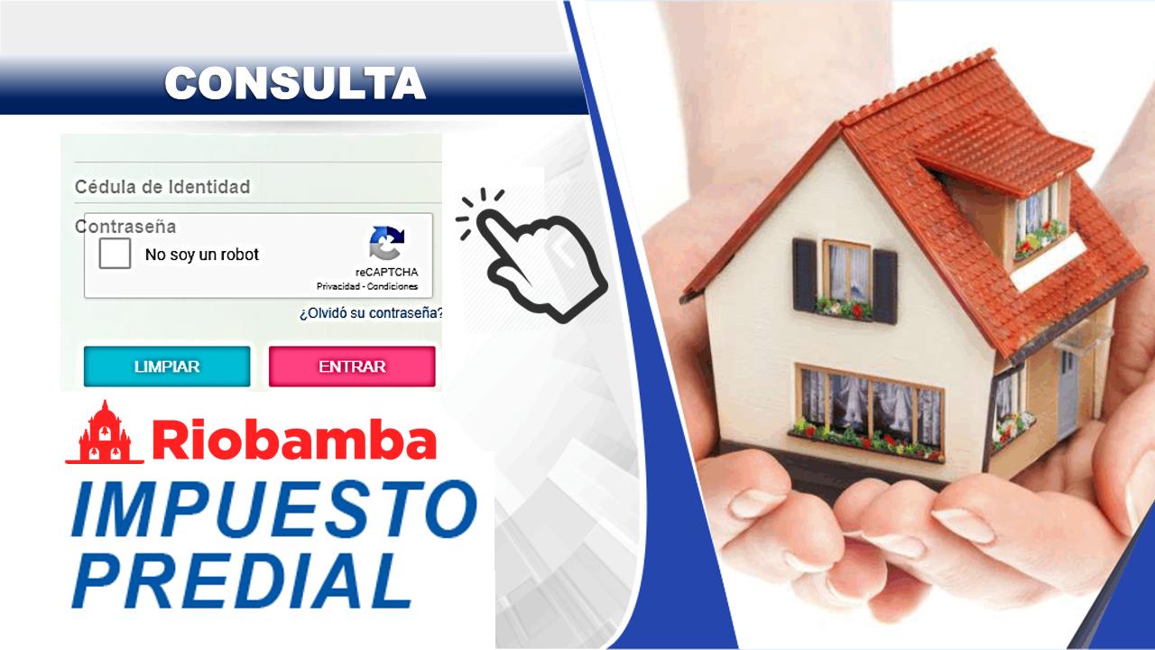 Consulta del impuesto predial Riobamba 4