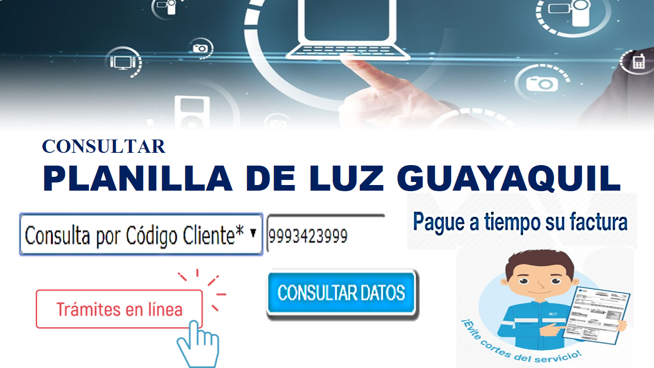 Consultar planilla de luz Guayaquil 4
