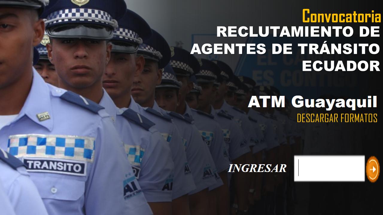 Reclutamiento de Agentes de Tránsito-Ecuador