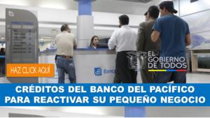 Creditos en banco pacifico