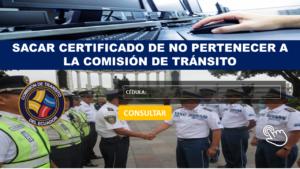 certificado de no pertenecer a CTEc