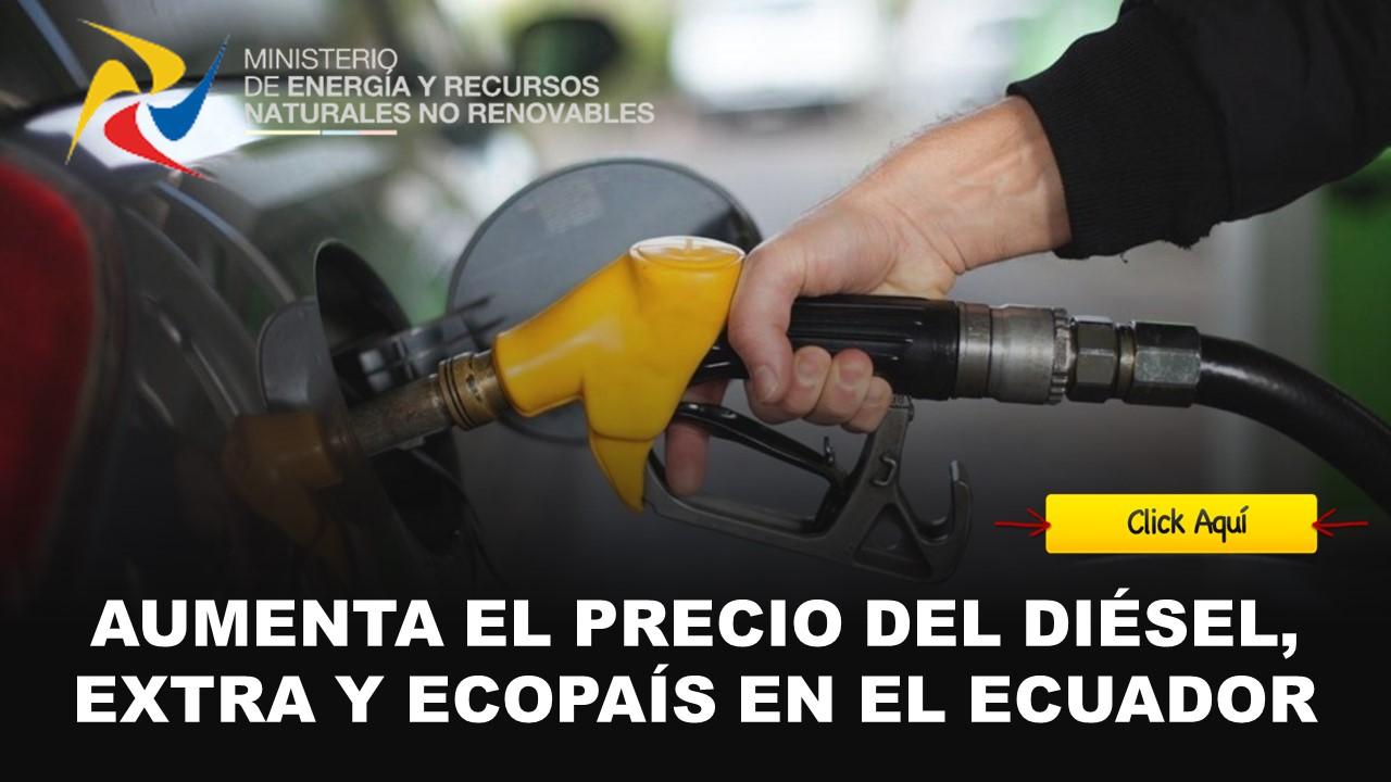 aumenta costo de diesel