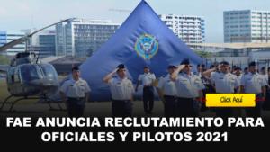 reclutamiento oficiales y pilotos