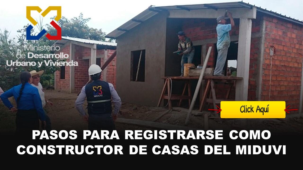 constructores de casas del miduvi