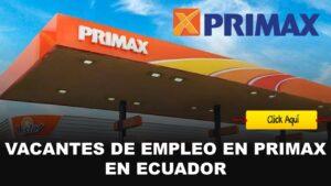 empleos primax